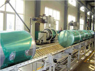Gas Storage Cylinder  Two Roller Plate Bending Machine Automatic