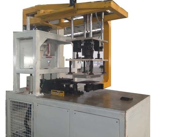 300X300mm Tube Shrinking Machine , Automatic Shrink Wrap Machine