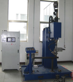 China Rotary Gun Roll Welding Machine Arc Welding Type 200-400mm Workpiece Range factory
