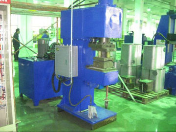 Square Cylinder Punching And Flanging Machine Mitsubishi PLC Control