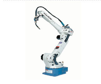 China Industrial Robotic Arm CNC Welding Robot , White Robotic Welding Equipment factory