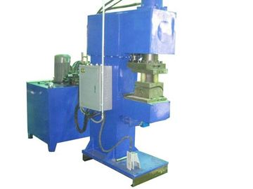 Automatic Punching Tube Flanging Machine 15KW 400X400mm 700X700mm Size