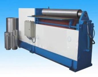China Two Roll Plate Bending Machine , Automatic Plate Bending Machine High Speed factory
